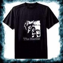The Beatles Rock Remera Unisex Manga Corta Oferta