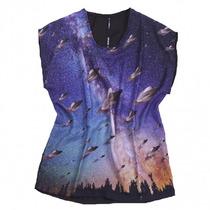 Remera De Mujer Moda Seaquest Modelo Space