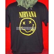 Remera Nirvana Talle X L Extra Large ( 56 Cm X 75 Cm )
