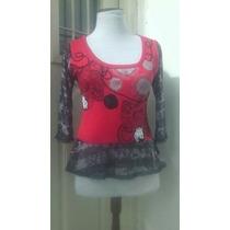 Remeras/blusas De Diseño Para Mujer - Bordadas-talles 1 Al 5