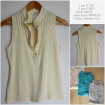 Camisa Cuello Mao Unico Talle M- 1x $150-o 2 X $200 Modal