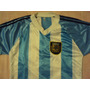 Camiseta Selec Argentina T10 Para Niño/a En Muy Buen Estado!