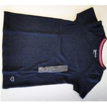 Remera De Nena Oshkosh Azul Con Aplique Talle Xs (imp. Usa)