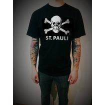 Remera St. Pauli (alemania - Punk) - Aikon. Exelente Calidad