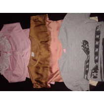 Lote De 7 Remeras Nena T8 Rip Curl Cheeky Abercrombie 47st
