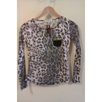 Remeras Animal Print Talle S Y Xs