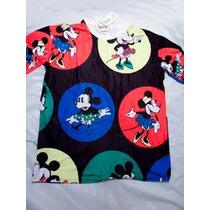 Remera Minnie Mouse Retro Disney Fashion