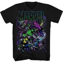 Remeras Superheroes Marvel Original Talles M L Xl Importadas