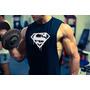 Sudadera Musculosa Rustica Superman Gym Fisicoculturistas