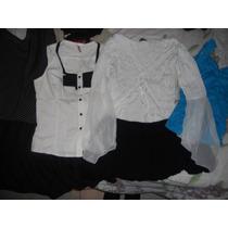 Lote De Ropa Camisa - Remera - Vestido - Pollera -musculosa