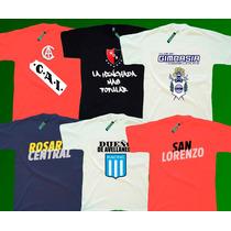 Lum - Remeras Fútbol Clubes Equipos - Estampadas 1ª Calidad