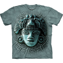 Remera The Mountain Rostro Maya / Bajo Pedido_exkarg