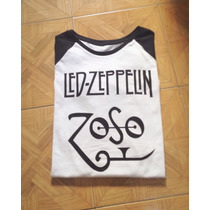 Remera Led Zeppelin, Jimmy Page!! Única!