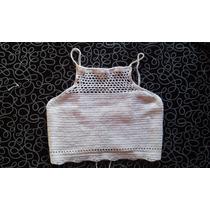 Top Musculosa A Crochet Le-toto
