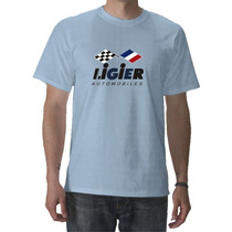 Remeras Formula 1 Ligier Matra Simca Stewart En Fuerza G!