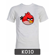 Remeras Angry Birds. Diseños Exclusivos!!!