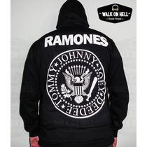 Campera Ramones - Brilla En La Oscuridad - Joey Dee Dee