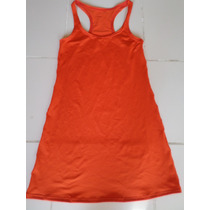 Musculosa Vestido Supplex Espalda Deportiva