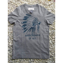 Remera Abercrombie & Fitch 2013 Nos Muscle Hollister Gris
