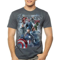 Remera Avengers Marvel Original Talle Xxl Importada Nueva!