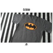 Remera Estampada Batman - Comic - Series - Cine - Clásicos