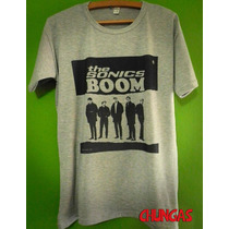 Remera The Sonics / Boom / Chungas