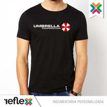 Remera Umbrella Corporation - 100% Algodón - Calidad Premium