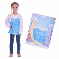 Kit Remera + Trenza Disney Frozen Elsa Newtoys Mundo Manias