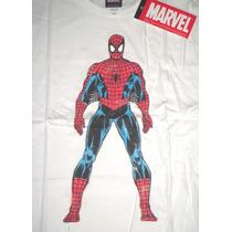 Remera Spiderman Marvel Doble Estampado Importada Nueva!