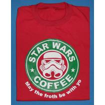 Remeras Logo Star Wars- Talles Grandes.