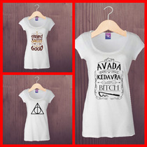 Harry Potter Remeras Unicas Sublimadas