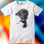 Remera Unisex Estampada Perro Animales No Message
