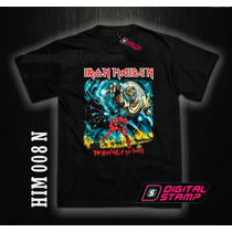 Remeras Iron Maiden Heavy Metal 08 The Number Of The Beast