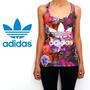 Musculosa Adidas Originals Flowers Excelente Calidad