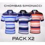 Chombas Simonacci Pack 2 Unidades