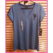 Remera Polo Azul P/ Mujer: Ropa Importada: Nueva Y Original,
