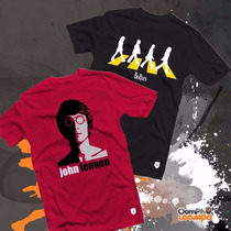 Remeras The Beatles Diseños Únicos En Mercadolibre!