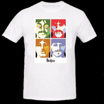 Remera The Beatles - Excelente Calidad! Modelo Hombre