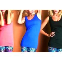 Musculosa Larga Ideal Calzas Elastizada
