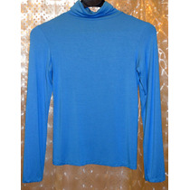 Polera Color Azul Turquesa Modal