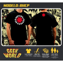 Remeras Rock - Red Hot Chili Peppers - Geek World Rosario!