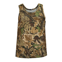 Camiseta Musculosa Camuflado Bosque Caza Táctica Militar