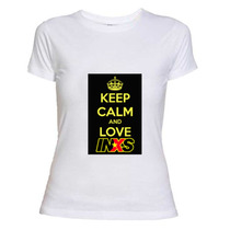 Inxs Keep Calm, Remera Diseñada Por Re-start!