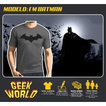 Remeras Superheroes! - I M Batman - Geekworld Rosario