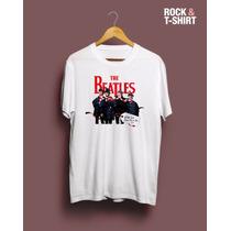 Remera The Beatles Nieve - Hay Más Modelos
