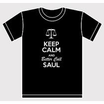 Remera Keep Calp And Better Call Saul Estampada Breaking Bad