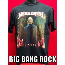 Remera Megadeth Talle X L Extra Large ( 56 Cm X 75 Cm )