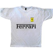 Remera Autos Diseño Ferrari
