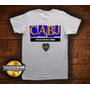 Remera Club Atletico Boca Juniors Gris