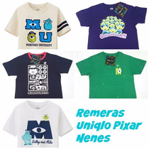 Remeras Uniqlo Pixar-disney